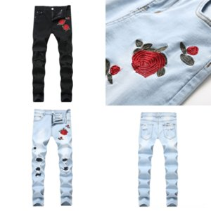j0fcC Hot dog Sale clothe Top jeans New Arrival Famous Designer Mens Jeans Classic Straight Patch Jeans Trousers Am Brand Zipper Marbling