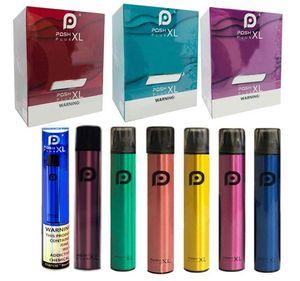 NEWEST POSH PLUS XL Disposable Device Pod Kit 1500 Puff 5.0ml Pre-filled Cartridges Vape Empty Pen