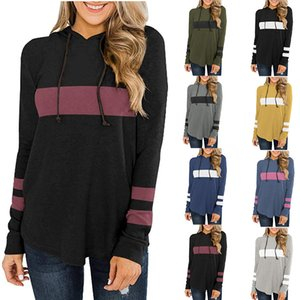 Wholesale Casual Female Shirts Polyester Ladies Loose Long Sleeve Pullover T Shirt