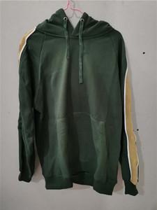 Moda Mens Hoodie com letras mangas outwear camisola com capuz Terry qualidade primavera inverno unisex hoodies
