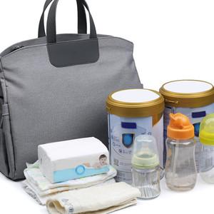Пеленки сумки с коляской ремни подгузник Мумия большой емкости сумка мама младенца Многофункциональный водонепроницаемый Открытый Путешествие Q1116