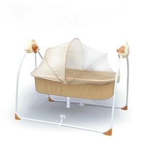 Baby Krippen Elektrische Wiege Bett Rocking geborene schlafende intelligente Automatik liegendes Kinderbett