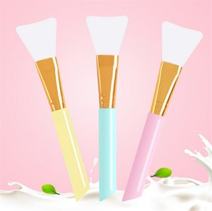 Hot sale BS-MALL whoelsale face mask brush silicone face mask application Brush Clean Tools face mask brush
