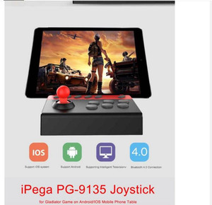 1 pezzo Ipega PG-9135 Bluetooth Gamepad Controller di gioco wireless per Android / iOS Telefono cellulare Tablet Game Fighting analogico Ipega
