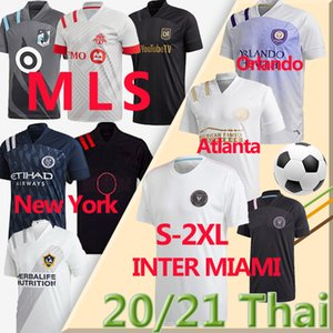 20 21 ملز La Galaxy Soccer Jerseys Inter Miami FC Minnesota DC United New York Red Orlando City Bulls Atlanta Montreal تأثير كرة القدم
