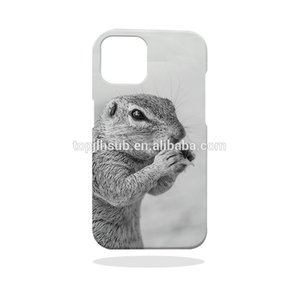 Personalized Mobile Phone Accessories 3D Plastic Printing Sublimation Blank Phone Case for iPhone12 Pro 6.1''