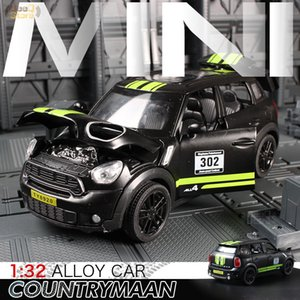 1:32 Toy Car Mini Countryman Diecast Alloy Metal Car Model for MINI Coopers Model Pull Back Car Toy Vehicles Miniature Scale Z1124