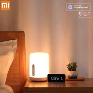 Xiaomi Youpin Original Bedside Lamp 2 Smart Table LED Night Light Colorful 400 Lumens Bluetooth WiFi Touch Control for HomeKit Siri