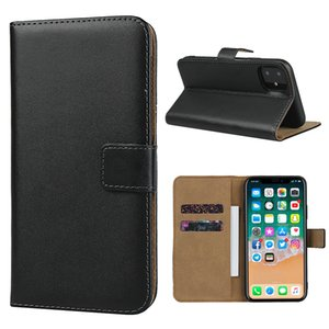 Genuine Leather Case For iphone 12 Mini 11 Pro 7 86 6s 8plus X XS Max XR for iPhone 12 Pro Max Flip Stand Designer Phone Back Cover Bags