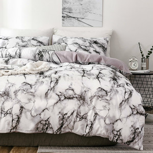 Marble 3D Pattern Designer Beddings and Bed Sets Twin Double Queen Quilt Duvet Cover Comforter Beding Set Luxury Beddingoutlet Q1127