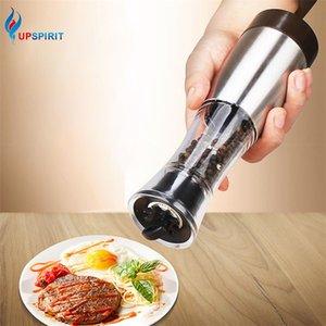 EPSIRIT Electric Pepper Mincer Ceramics Core Spice Mill Salt Grinder Black Condiment JAR Shaker Mills Кухонные инструменты