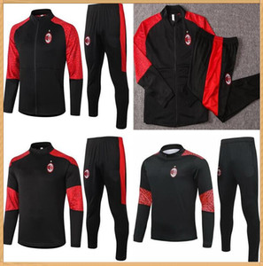 2020 Milan Kaka Suite Jacket Training Train Soccer Tracksuits 2021 Piatek Ibrahimovic Tracksuit Football Veste TrackSuit Set