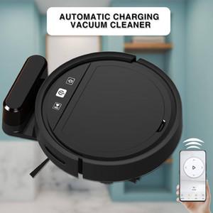 Elektrikli Süpürgeler Otomatik Şarj Robot Temizleyici ile App Sweepwet Mopping FloorsCarpet Yıkama USB Şarj 2021