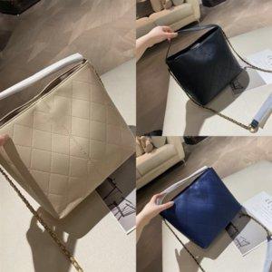 Bucket TCGAD Newest Handbag de cuero Bolso diseñador Bohemia Peluche VEMPK PU Plaid Lujo Mini Hombro Cadena de cuero Bolso Dama Estilo WOM CERPM
