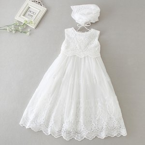 Hetiso Baby Girls Dress Long Sleeve Kids First Birthday Ball Gown Infant Dresses for Baptism Bridesmaid party 3-24 month 201204