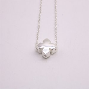 Trendy Cross Pendant Necklace Zinc alloy Material Gold Silver Rose Three Color Optional Suitable for Men And Women Wholesale