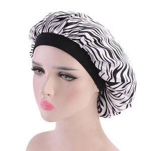 Hat Fashion Accessories Chemotherapy Wear Home Wide Side Adult Men Women Beanie Cap Covers Soft Satin Chemotherapy Sleeping