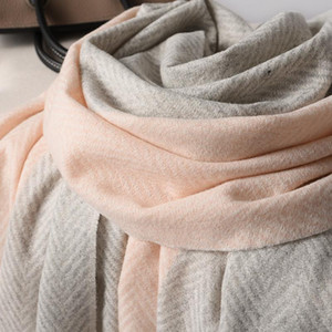 Cashmere Scarf Women Shawl Brown Bandana Classic Patchwork Blanket Tassel Cape Warm Winter Faux Fashion Scarves