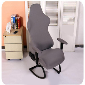 Home Office Chair Covers Modern Dustproof Gaming Washable Reusable Soft Armchairs Computer Seats Protector Removable Spandex