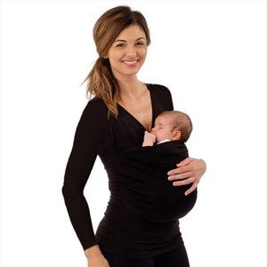 2019 New Autumn Mother Kangaroo T Shirt Maternity Tops Mum Baby Carrier Big Pocket for Women Men O Neck Long Sleeve Tee