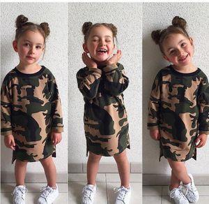 Concepteur camouflage bébé vêtements enfants girls girlsuit combinaison garçons filles enfants pyjamas set garçon vêtements styles de vêtements genou longueur robes