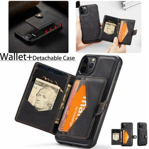 """Detachable Folio Wallet Cases with Protective Slim Case Fit Car Mount For iPhone 12 Mini  12 Pro Max 6.7"""", iPhone 11 6.1"""" XS XR 7 8 Plus"""