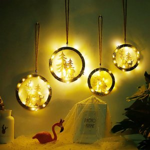 Nordic style home decoration room restaurant shop wall Christmas elk decoration creative small pendant