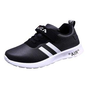 SkoEx Kids Sneakers Casual Niy Sneaker Moda Estilos Estilos Conchas Cabeza Zapatos Slips Slip en transpirable para niños Girls Sports