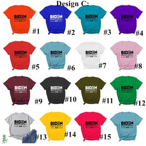 USA Presidential Election Joe Biden Harries Letters Printed T-shirt Short Sleeve Casual Sports Tops Tees Fashion Colorful Shirt E111304
