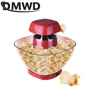 DMWD Electric Popcorn Machine Small Automatic Carnival Popcorn Maker 1200W Corn Making Machine For Household DIY Corn