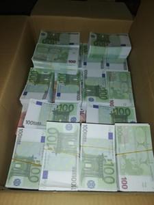 11 Bar Prop Coin Coin 100 Euro Falso denaro film e televisione Shooting Puntelli Practice Banknote Bar Game token