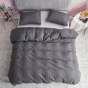 Designer Bedding Luxury Bedspread Oversized Luxury Bedding Set 3-piece Set Soft Seersucker 5 Colors Free Shopping