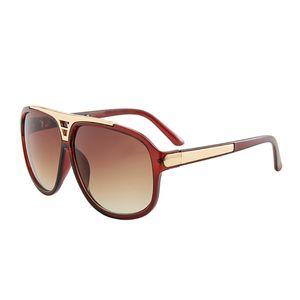Mode M Six Vintage Sonnenbrille Männer Gläser Quadratisch Rahmenloser Anti UV UV400 Klassische Art Outdoor Driving Sun Gläser