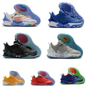 Mens Adaptar BB 2.0 Mag Basquetebol Sapatos Branco Gravador de Cimento-Dye Royal Blue Vencedores Círculo Planeta Multi-Color Planeta de Hoops Chicago Gamer Sneakers