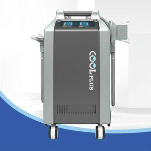 Cool Plus Mini Cryolipoliss 4 ручки с двойной машиной подбородки Последняя машина для удаления Cellulite Cool Technology Mater