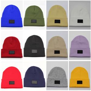 Fashion Letter Beanies Winter Knitted Hats Unisex Skull Caps Trendy Design Crochet Hat Bonnet Warm Knit Cap Outdoor Beanie Ski Ear Muff 2021