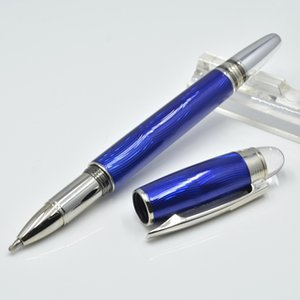 Wholesale price Black   Blue metal roller ball pens with Crystal Head Promotion ball pen For Christmas Gift ( No Box )
