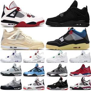 retro 4 4 s Männer Basketball Schuhe New OG Bred für 2019 Tattoo Weißzement Singles Day Designer Schuhe Sport Turnschuhe Größe 8-13