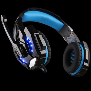G9000 KOTION Game Gaming Headset PS4 Games Console Earphone Headphone With Microphone Mic For PC Laptop playstation 4 PS4 Gamer MQ10