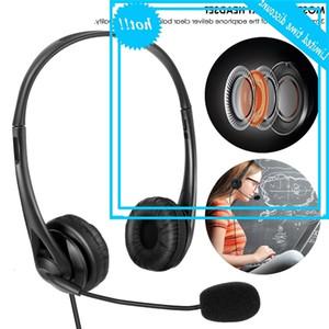Audio 3.5mm / USB con connettore del gioco del cavo del microfono, Auricolare professionale e computer online