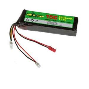 MG Power 11.1V 1100mAh Lipo Battery For Walkera DEVO F12E DEVO 10 7 order<$18no track