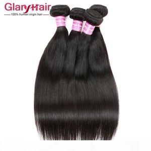 Venta al por mayor Remy Human Hair Weave UK 8A Brasileño peruano Malasia India Mongolian Camboya Cámara Raw Virgin Pelo Recto trenzado Bunldes