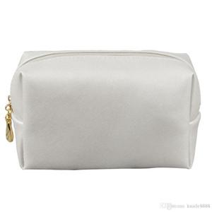 Fashion Organizer Solid Makeup Bag Multifunctional Waterproof Women Portable Toiletry Travel Large Capacity Zipper PU