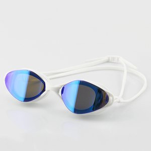 New Colorful Eyeglasses Competition Spectacles Professional Plating Anti-fog Swim Pool Race Swimming Glasses