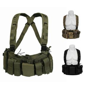Outdoor Tactical Bag Camouflage Backpack Multi-function Shoulder Bag Fan Tactical Vest Multi-pocket Waist