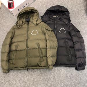 Moncler Moncle Kalın rüzgarlık 2020 Tasarımcılar Monclair Mens Aşağı Ceket Kapşonlu Lüks Maya Puffer Kapüşonlular Günlük Moda Kış Coat ceketler Isınma