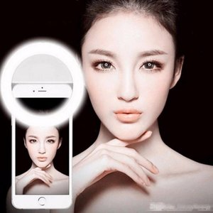 Universal Selfie Portable Led Telefotographic Photography Photography Ring Light Light Photography Photography per iPhone x 8 7 6 5 Samsung Xiaomi