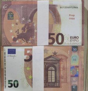 Vente en gros 50 Famille US PROP BANKOOTE DE JOYS OU PLAY DE L'ARGENT EUR 100 PCS / PACK Game Jeu réaliste Papier Copier Enfants Xnerd