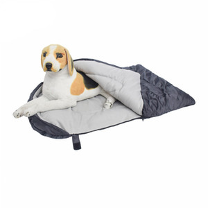 Dog Sleeping Bag Waterproof Travel Large Portable Dog Bed with Storage Bag for Indoor Outdoor Warm Camping Hiking Backpacking