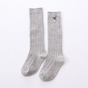 1-5 Years Baby Girls Cute Kids Knee High Socks Exquisite Flower Cotton Princess Long Sock Children's Leg Warmer